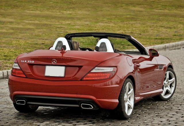 Luxury Cars Rental Mercedes Slk 350 With Images Mercedes