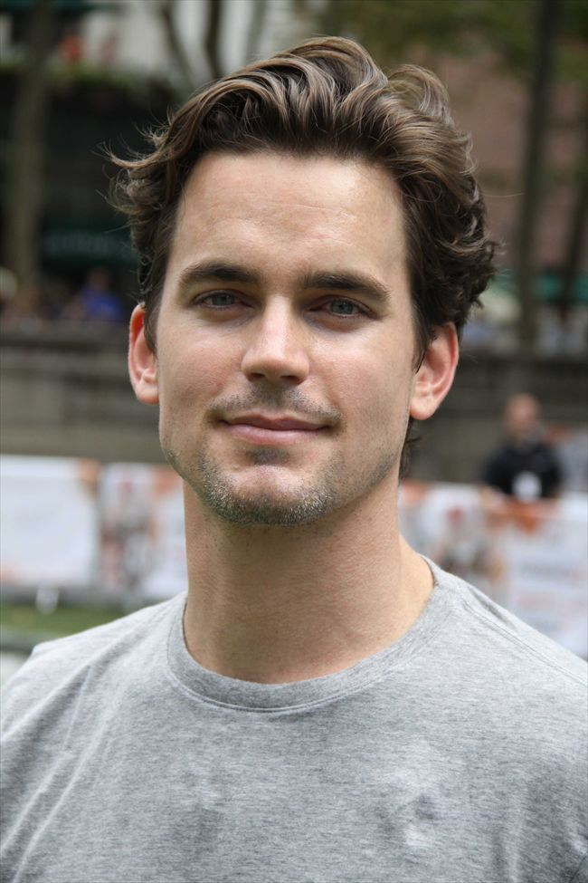 Matt Bomer Matt Bomer White Collar Mens Hairstyles Wavy Hair Men