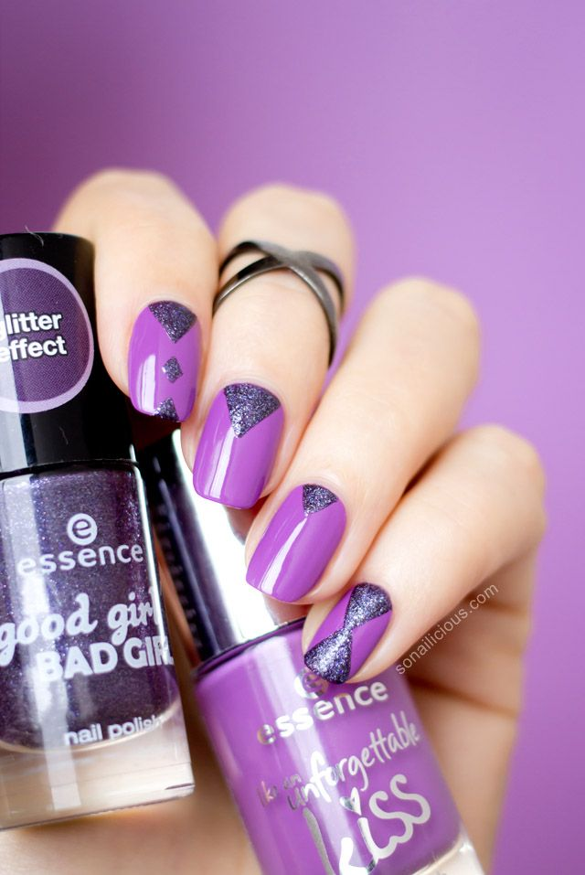 Essence Like An Unforgettable Kiss - Review & Nail Art | Kiss ...