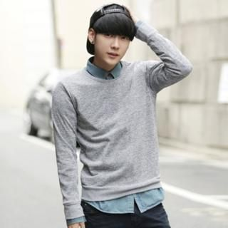 Buy 'ABOKI – Cotton Blend Sweatshirt' with Free International Shipping at YesStyle.com. Browse and shop for thousands of Asian fashion items from South Korea and more!
