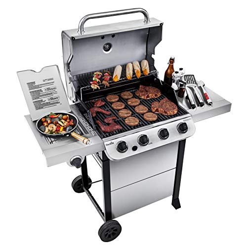 Compare A Weber Spirit 2 E310 Vs A Char Broil 463377319 Performance Stainless Steel 4 Burner Cart Style Gas Gri Best Gas Grills Best Small Gas Grill Gas Grill