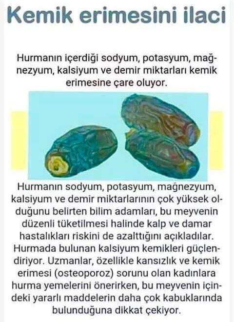 Vuslat Leyla Saglik Hurma Saglik Ipuclari