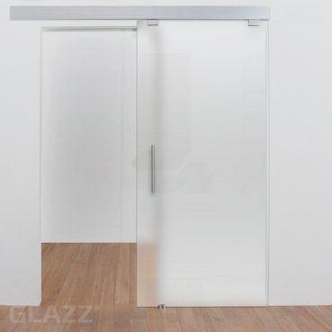Glass door for the kitchen