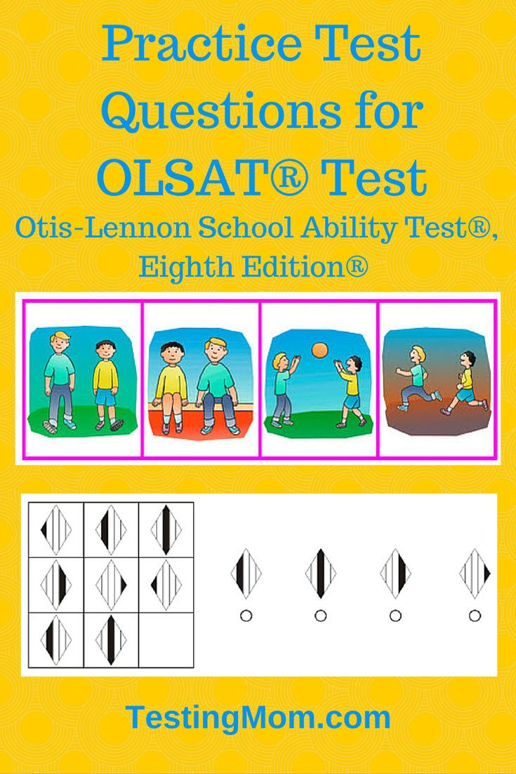 Practice test questions for olsat test otis lennon school ability practice test questions for olsat test otis lennon school ability test eighth edition are your children able to answer tough questions like this one fandeluxe Image collections