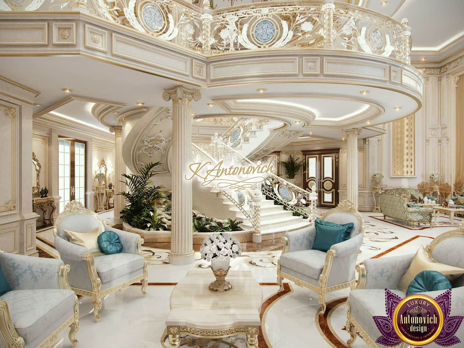 best house designs by katrina antonovich classic style corridor, hallway and stairs by luxury antonovich design classic | homify