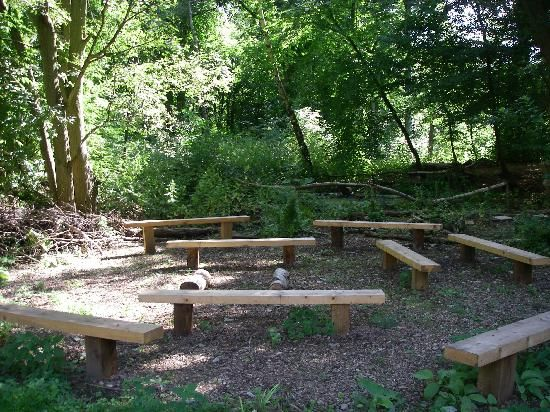 A Less Formal Example Of An Outdoor Classroom From Epping Forest In
