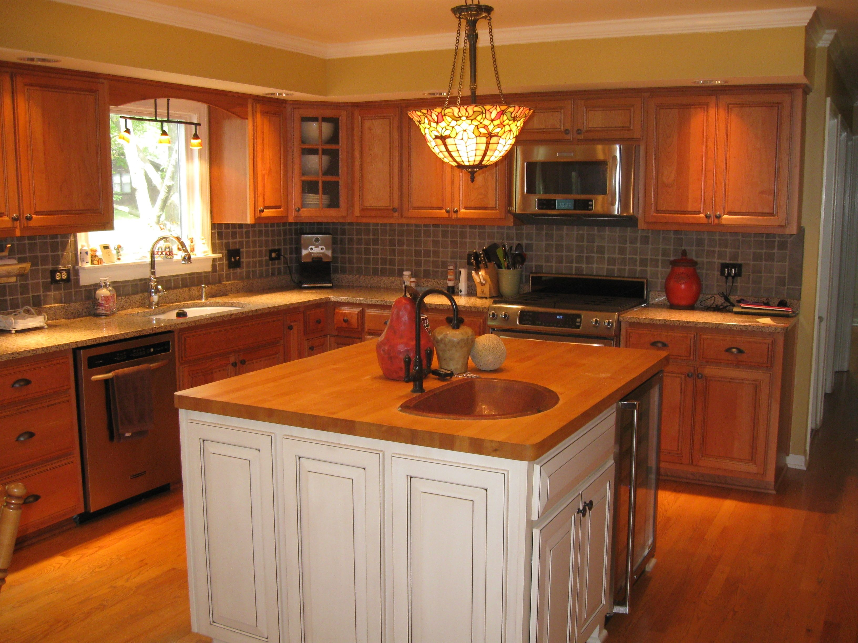 Kitchen Cabinets With Soffit Above | Kitchen soffit ...