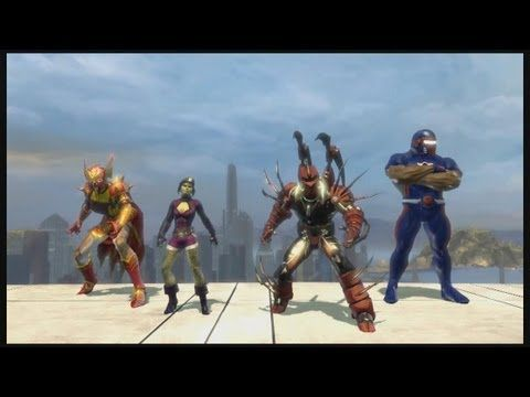 Dc Universe Online Gameplay Video With Basic Commentary Cool