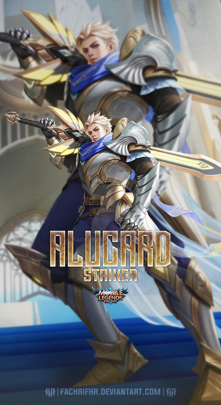 Alucard Lightborn Striker By Fachrifhr On Deviantart Gambar Karakter Desain Karakter Game Animasi