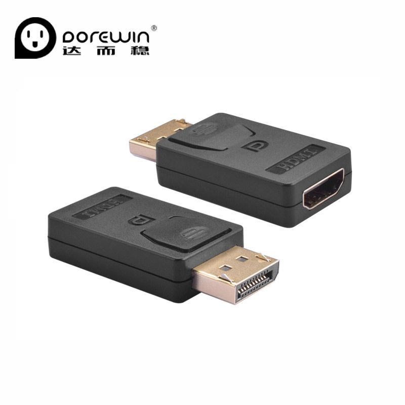 Dorewin Displayport Dp To Hdmi Adapter Dp Male To Hdmi Female Cable Converter For Hdtv Pc Tablet Set Top Box Hdmi Hdtv Adapter