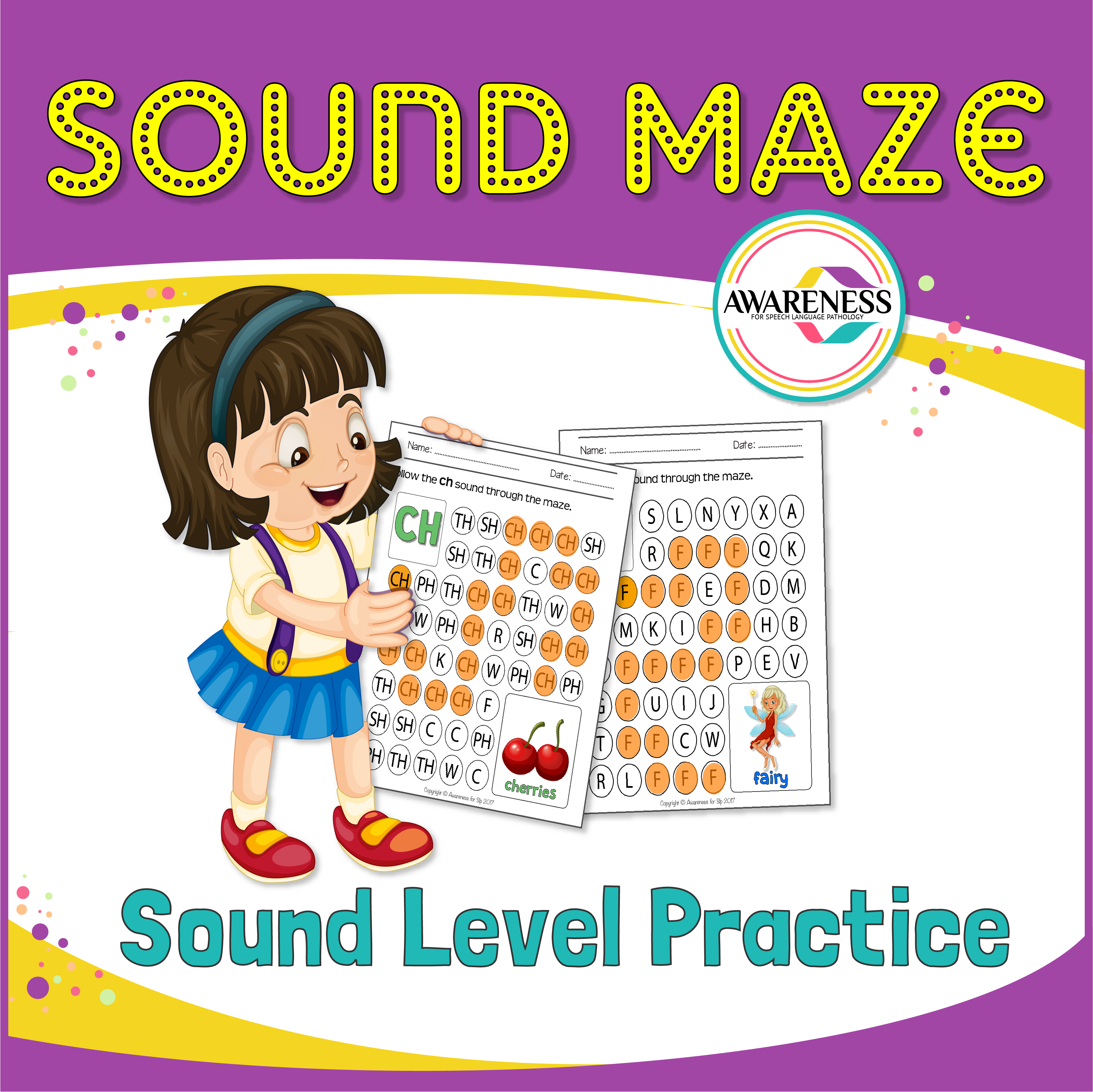 Articulation Sound Worksheet