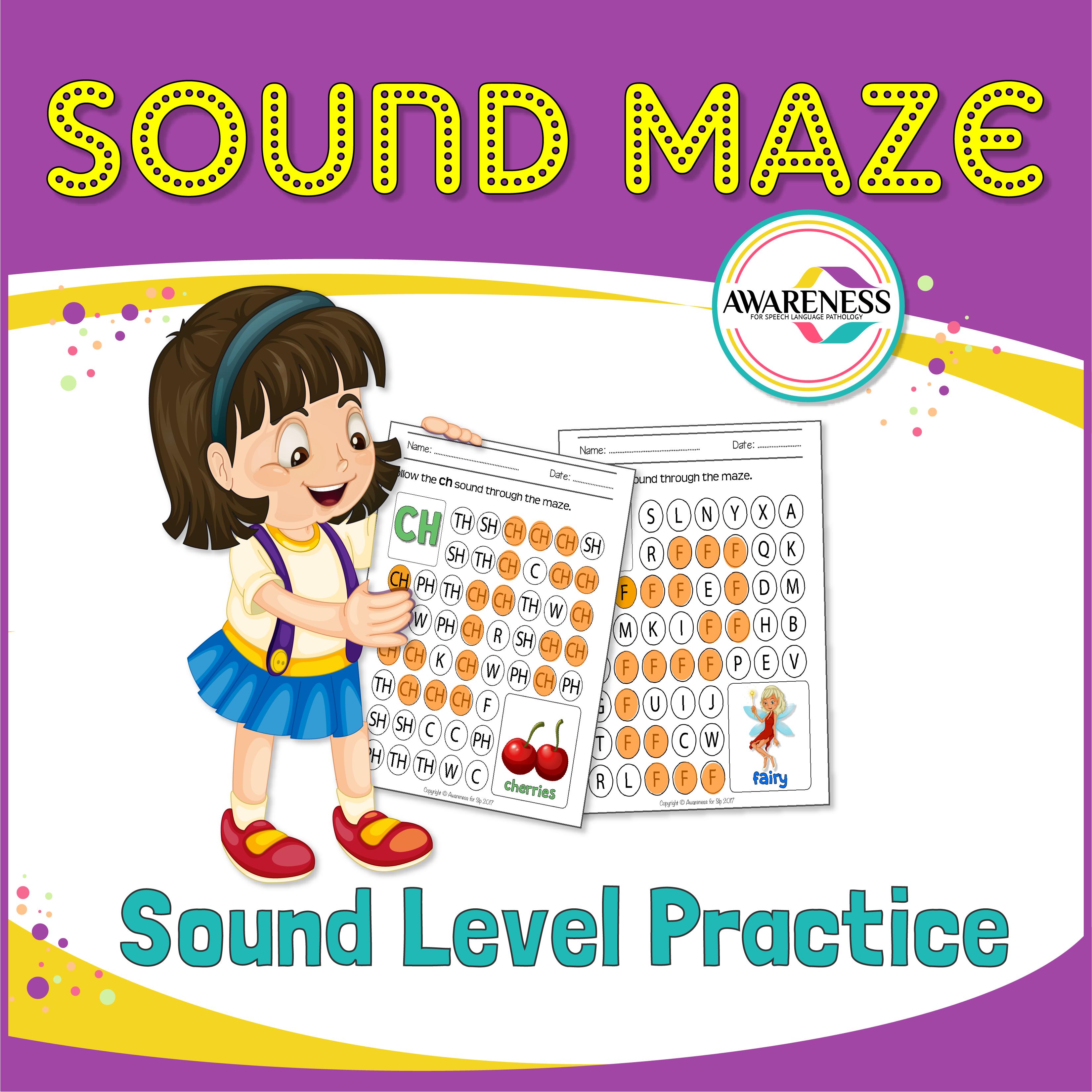 Articulation Sound Worksheet