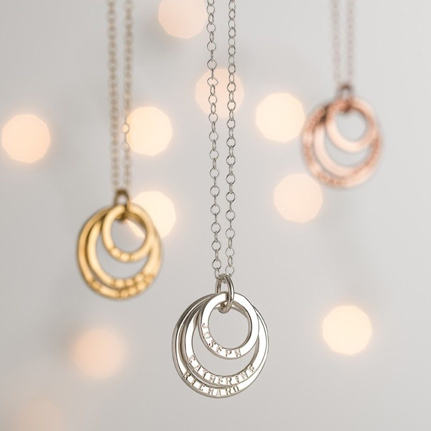 2c73315b1 Personalised Family Names Necklace | Posh Totty Designs | PTD ...