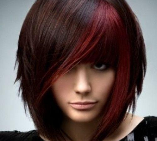 Burgundy Highlights | about burgundy beautiful highlight ideas for dark brown hair burgundy ...