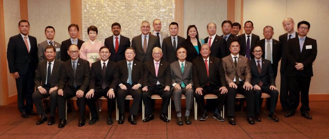 Duterte Cabinet In Tokyo Cabinet Members Of The Duterte
