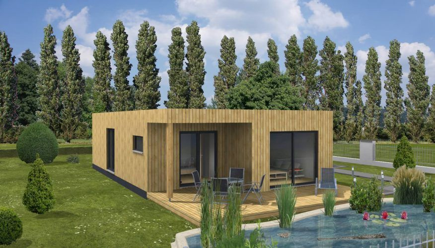 Max haus modulhaus modern 2 0 hell alternatives wohnen for Haus alternative