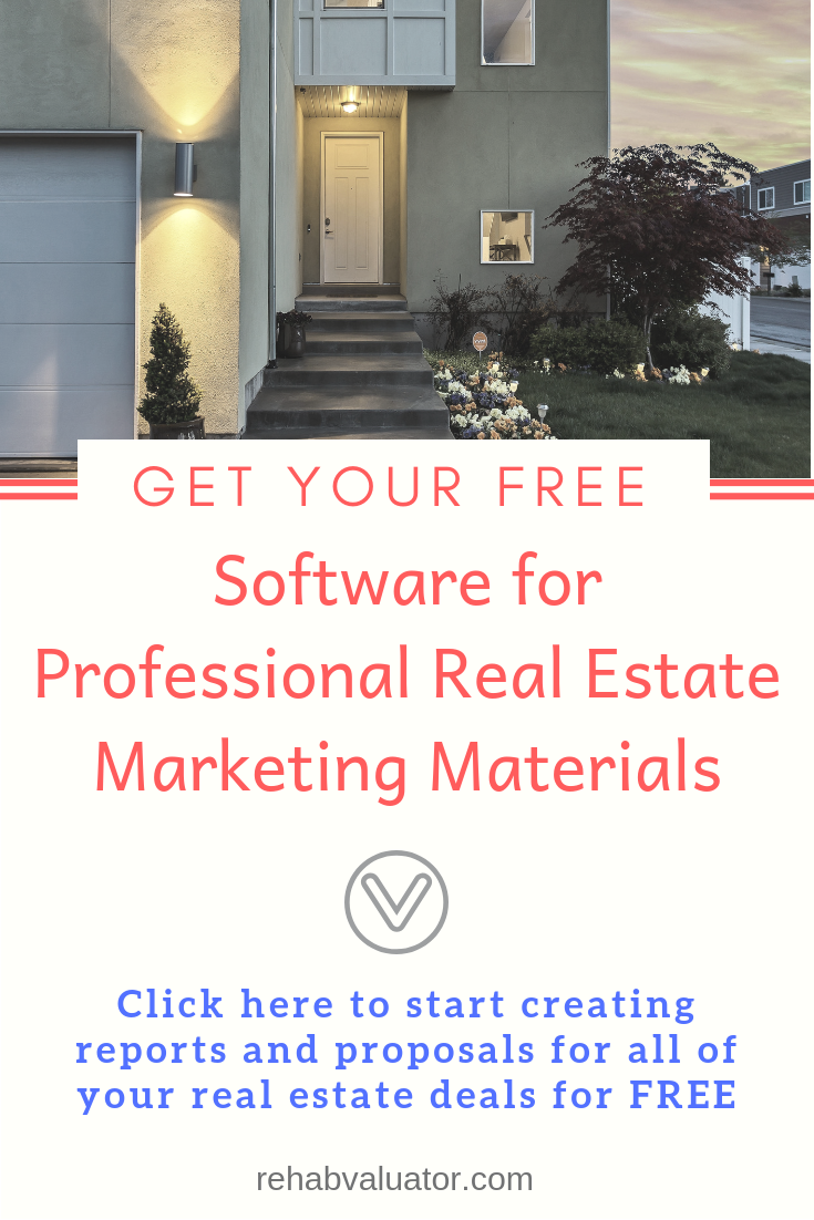 Create Marketing Materials For All Of Your Real Estate Deals To Impress Hard Money Lenders