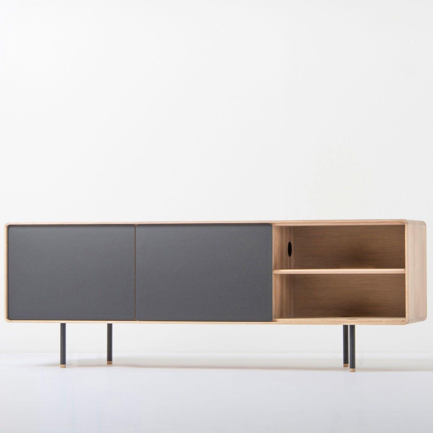 Tv Meubel White Wash.Fina Sideboard Scandinavisch Tv Meubel Interiors