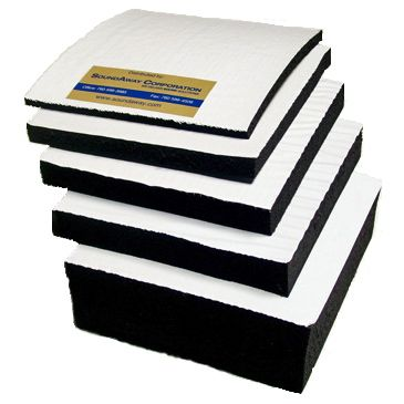 Soundproofing Mat Closed Cell Foam With Adhesive Backing Sound Proofing Closed Cell Foam Foam Mats