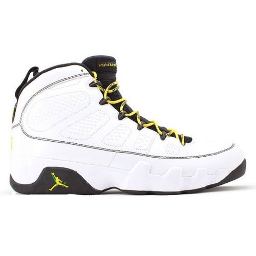 Air Jordan 9 Quai 54 White Citrus Deep Forest 302370-105  1f35c605e6b2