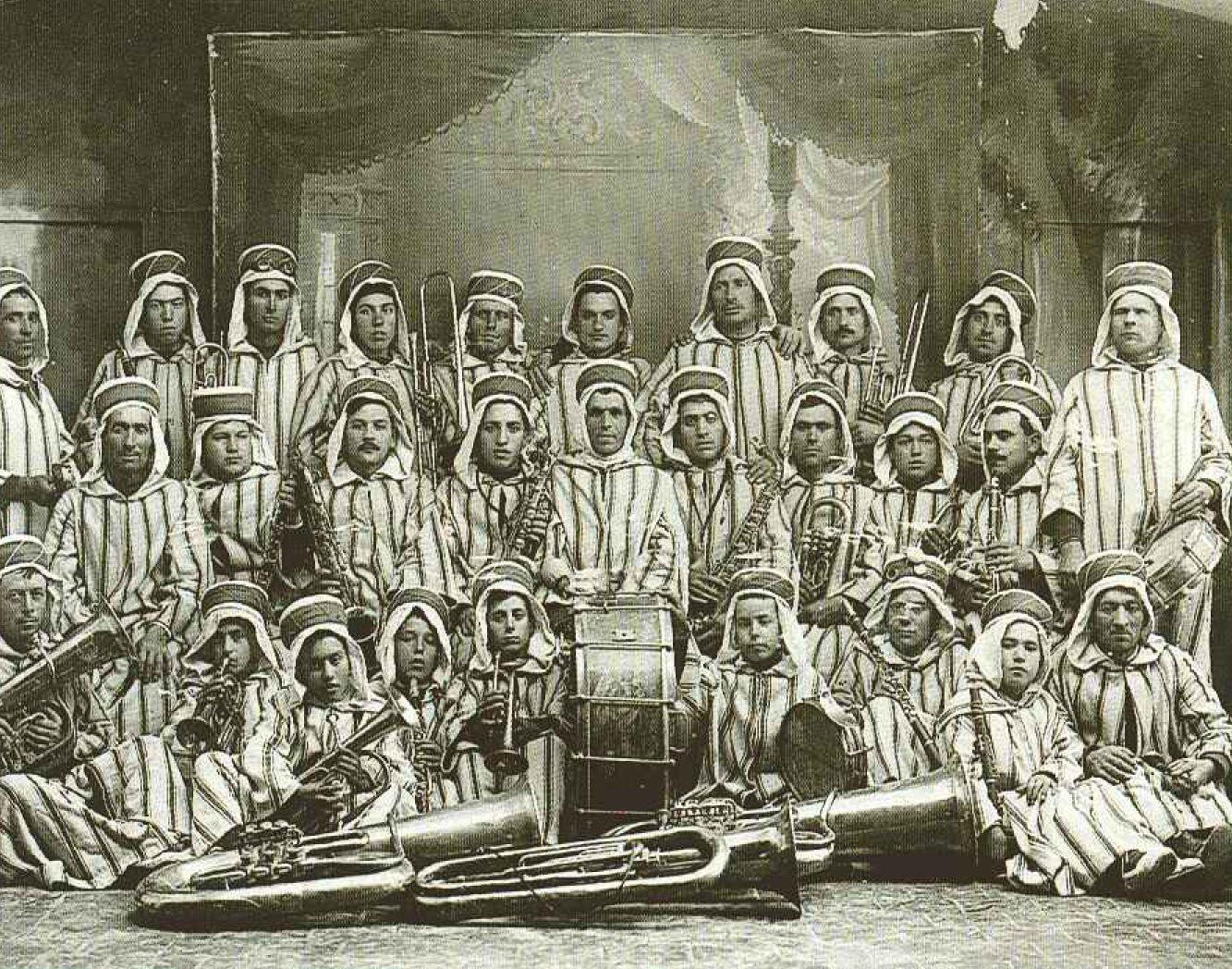 Banda de música de Penàguila a mitjans del segle XIX.