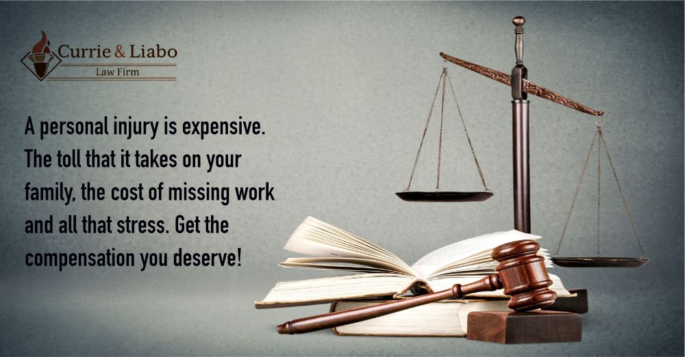 A personal injury is expensive the toll that it takes on