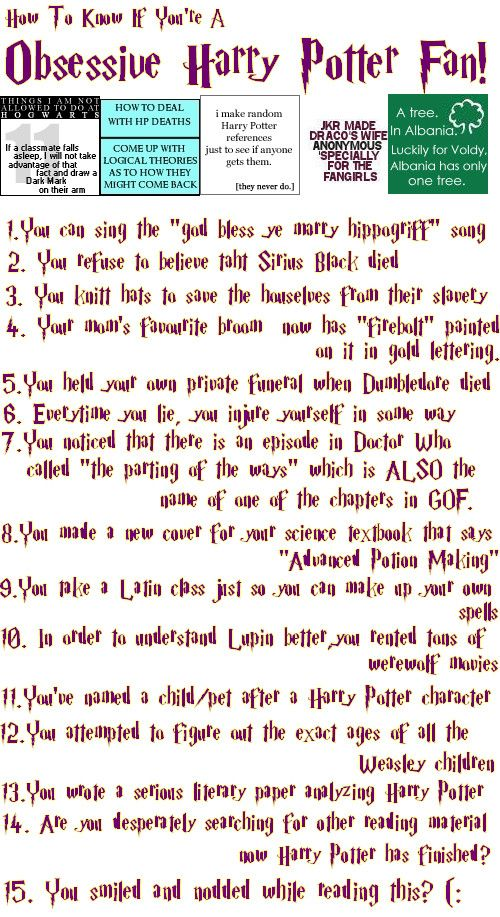 Funny Way To Know If You Re A True Harry Potter Fan Don T Be Surprised If You Find Which Fulfill Man Harry Potter Love Harry Potter Obsession Harry Potter Fan