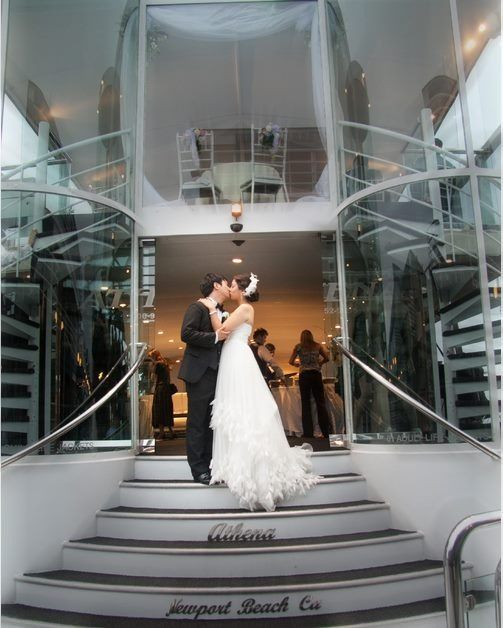 Wedding Photo Aboard The Athena At Electra Cruises Http Www Electracruises