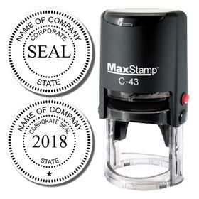 Self Inking Corporate Stamp Seal Looking For A Buy From Acorn Sales
