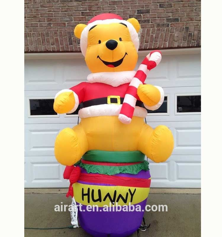 Outdoor Christmas Decorations Inflatable Polar Bears