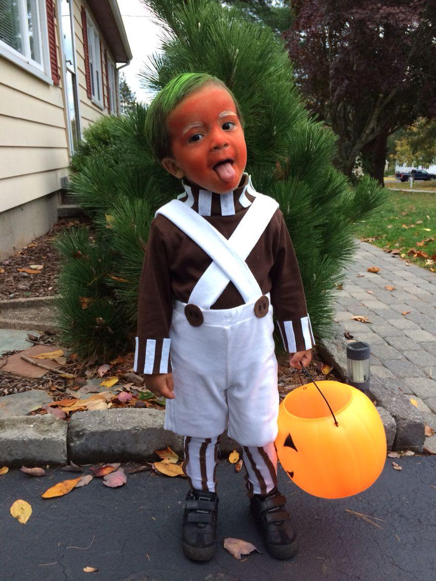 Toddler Oompa Loompa Halloween Costume!!! baby/kids