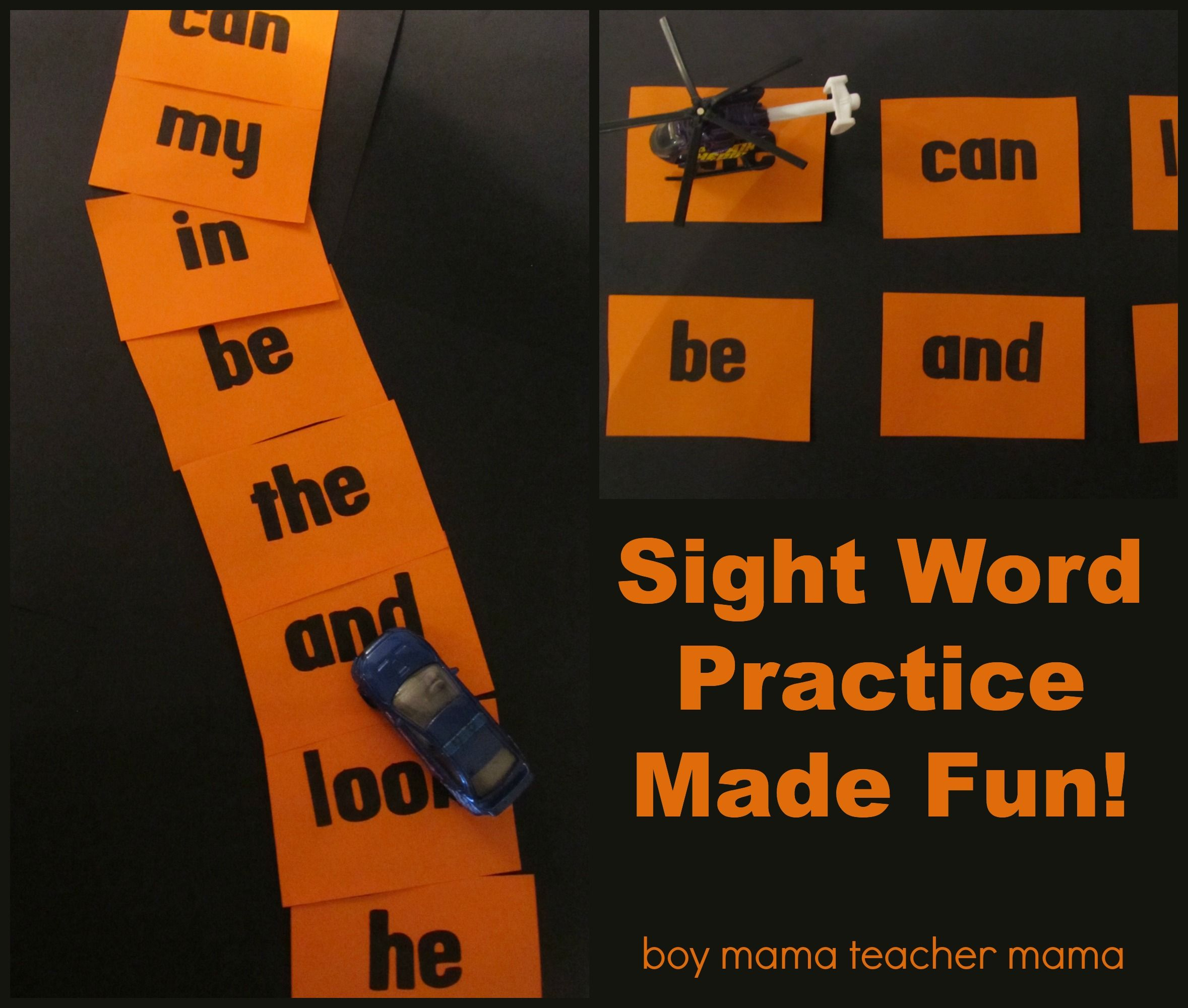 Teacher Mama: Sight Word Practice Made Fun (With Images