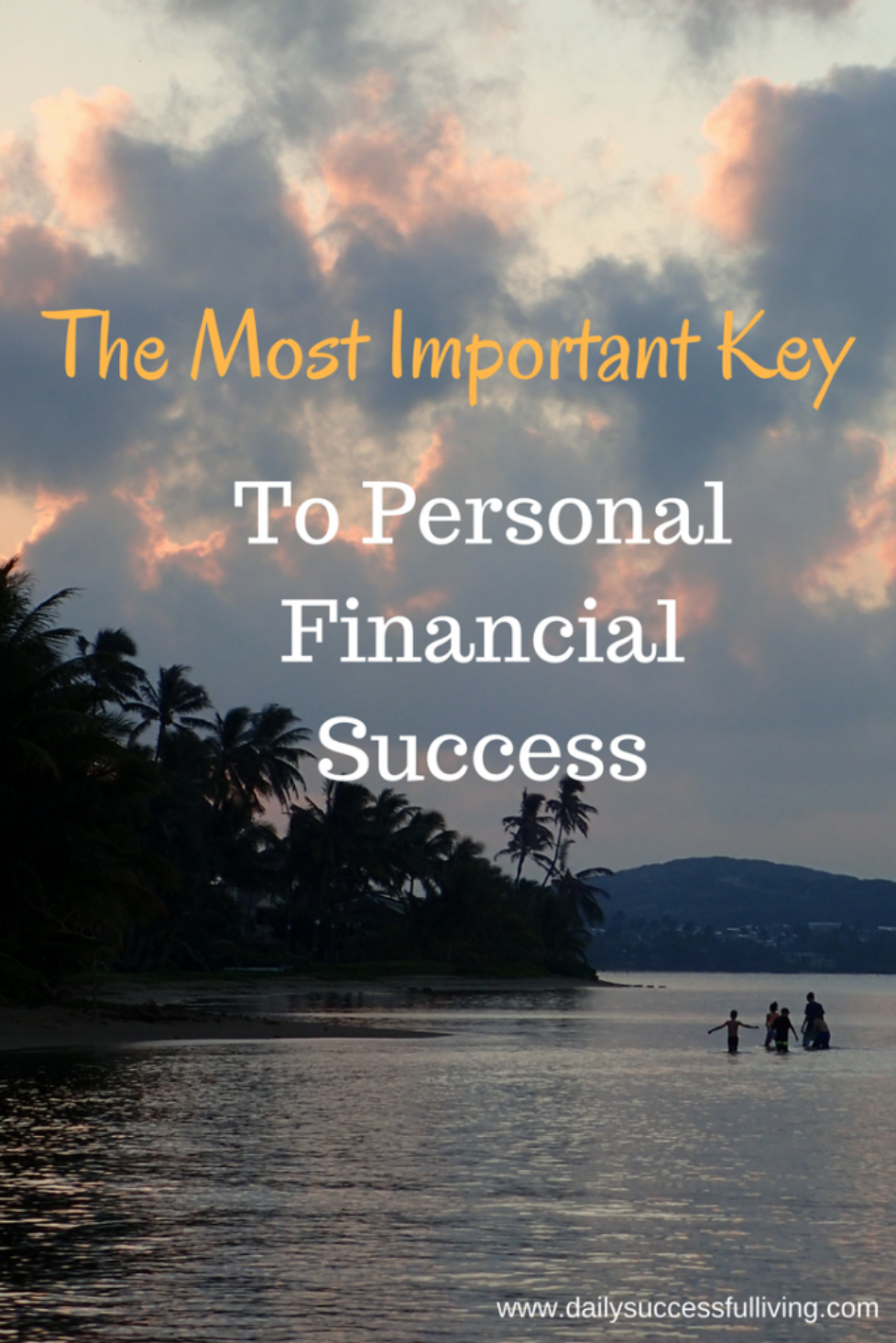 The Most Important Key To Personal Financial Success - How to change your attitude to one of contentment so we can be successful with our personal finances.