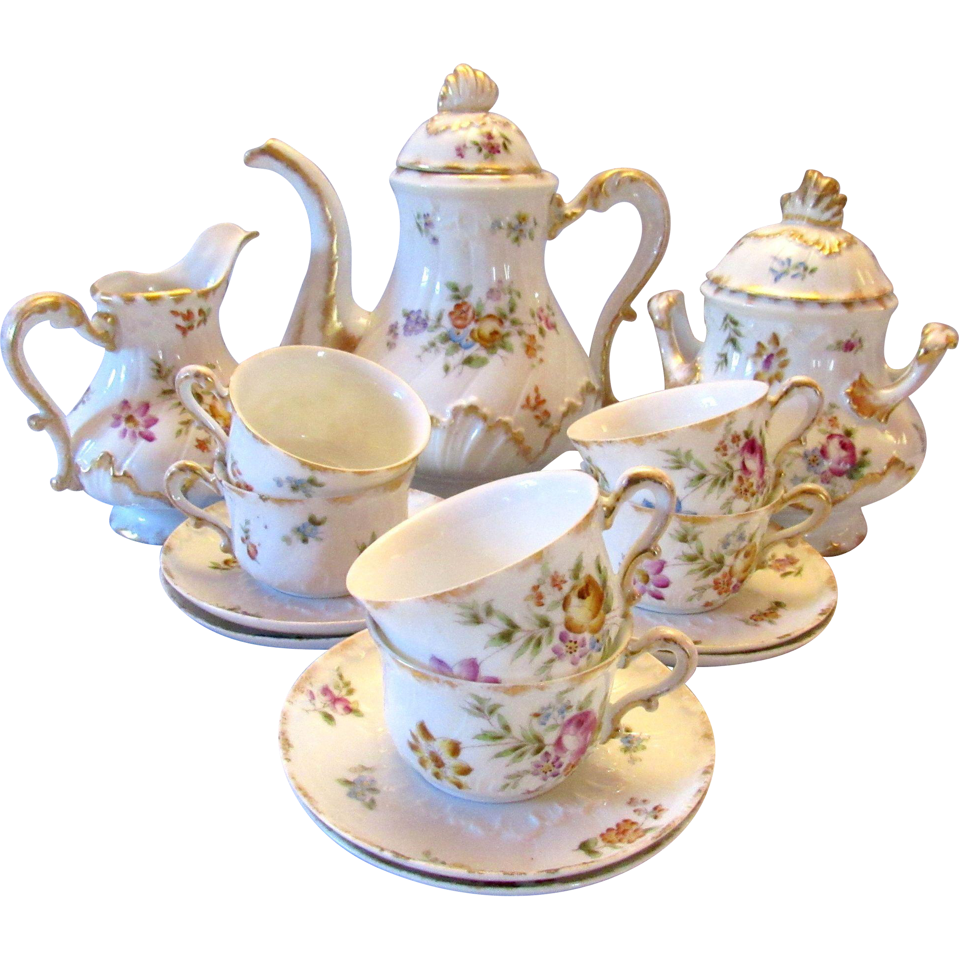 Porcelain · Antique Haviland Limoges Tea ... Design