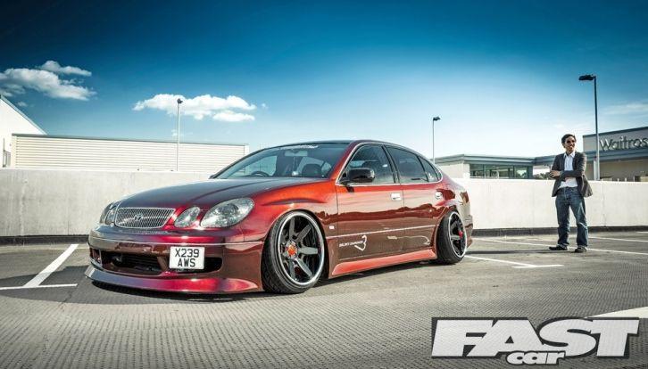 VIP Toyota Aristo Looks Like Shiny Caramel [Photo Gallery]