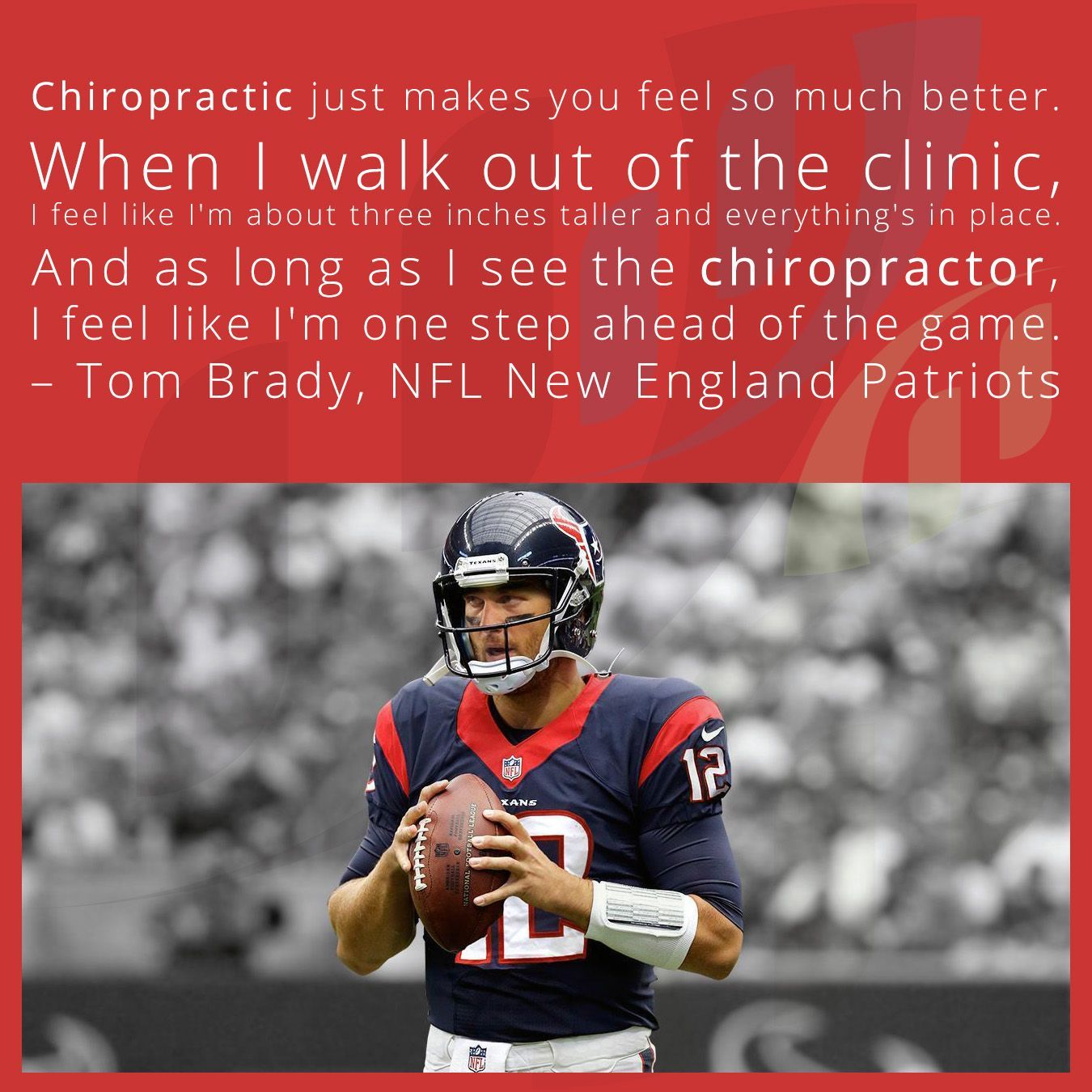 Chiropractic just makes you feel so much better. When I