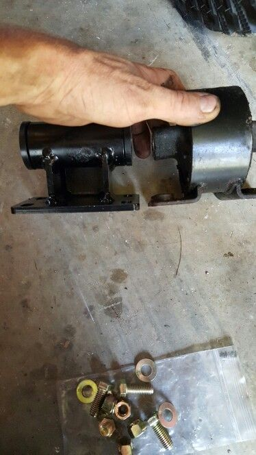 Jeep Zj 4 0 42re Transmission Mount Installed New 1 4 Steel