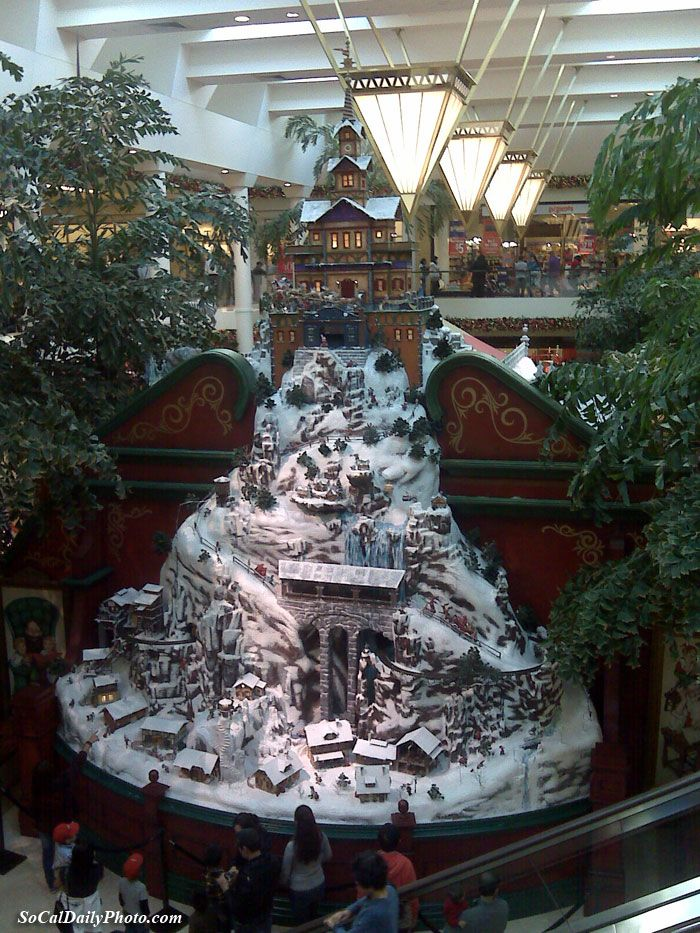 Christmas at the South Coast Plaza mall in Costa Mesa. They have ...
