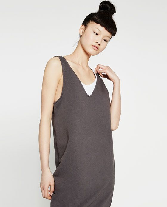 WITH DRESS SEAM VestidosPonerse Mujer Zara DETAILS PROMOTIONS Vestidos ZARA  qxpEwP5 745a17bb9cac