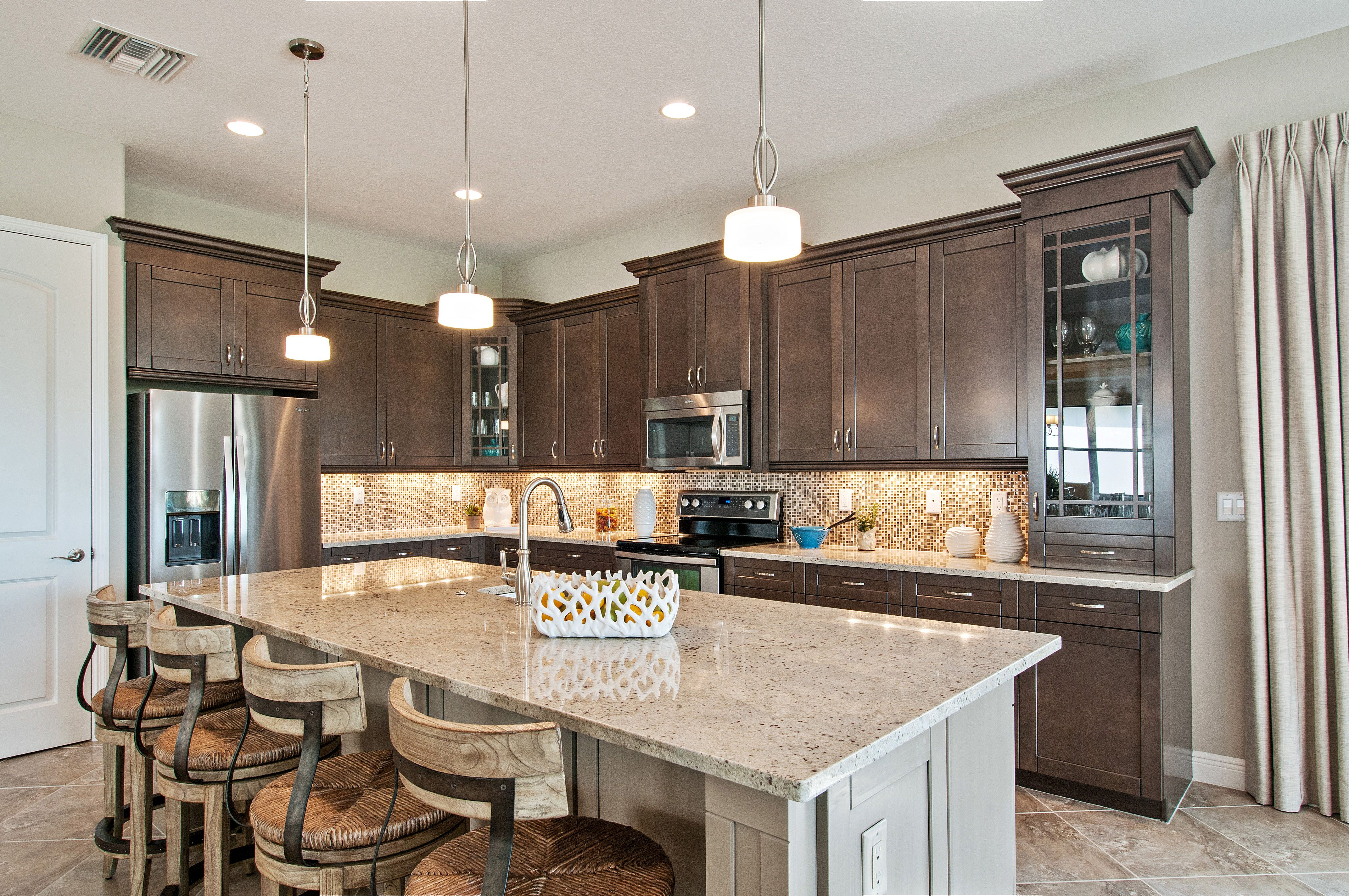 The Cordoba Model Home Kitchen Redesign Luxury Kitchens Kitchen Design