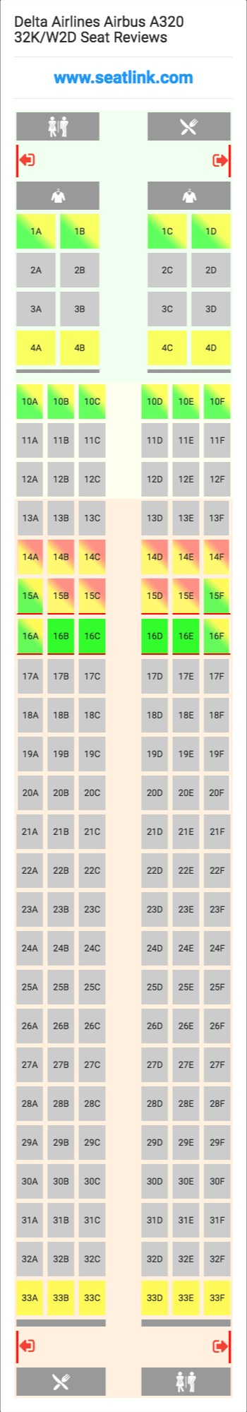 Delta Airlines Airbus A333 Seating Chart 200