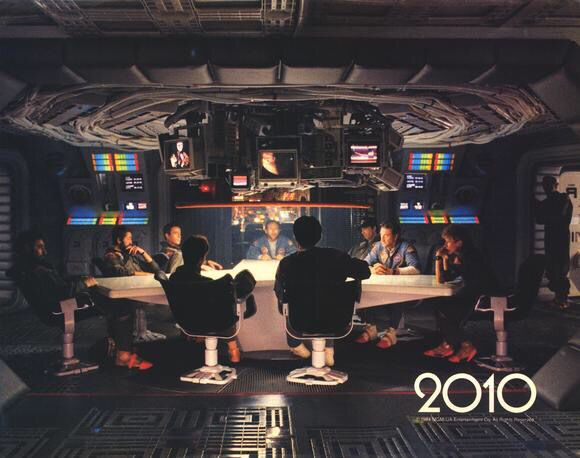 2010 The Year We Make Contact Space Odyssey
