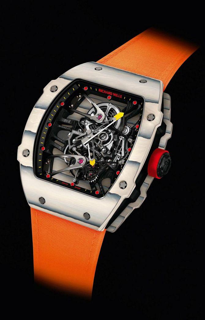 10df5fa4973 Limited Edition Richard Mille Tourbillon RM 27-02 Rafael Nadal  Produtividade