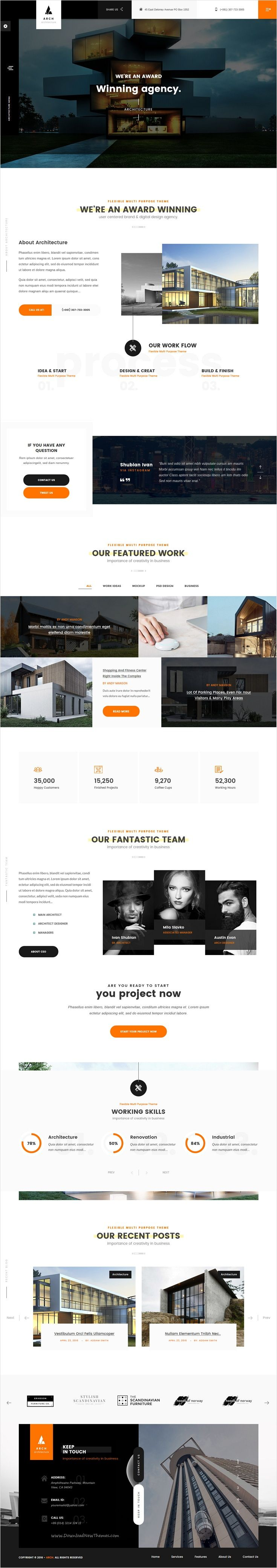 Arch is a Premium One page & Multi-page #bootstrap template best suitable for Design #Architecture, Engineering #agencies, photographers and personal portfolios related services website download now➩ https://themeforest.net/item/arch-multipurpose-onepage-multipage-html-template/18567948?ref=Datasata