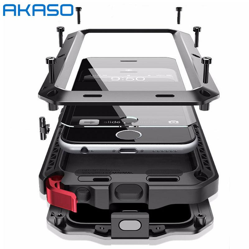 separation shoes 70ae2 b8a86 Military Case for iPhone X 8 6 6S 7 7 Plus Shockproof For Samsung ...