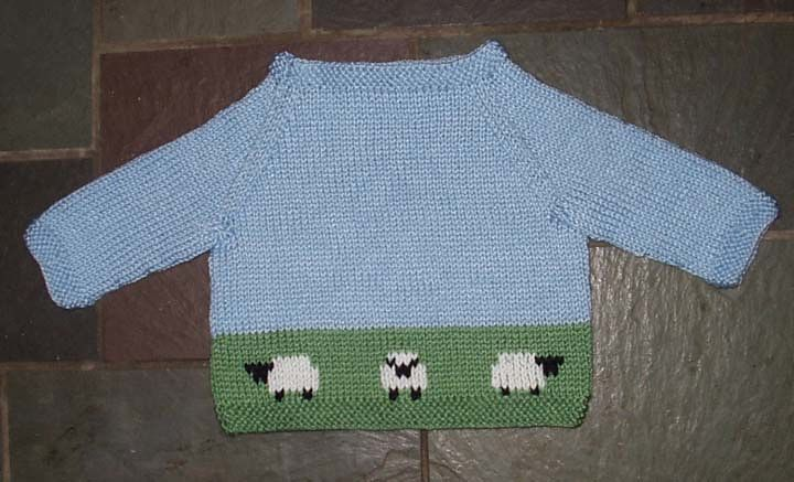 Baby Boat-Neck Pullover | Baby knitting patterns, Kids ...