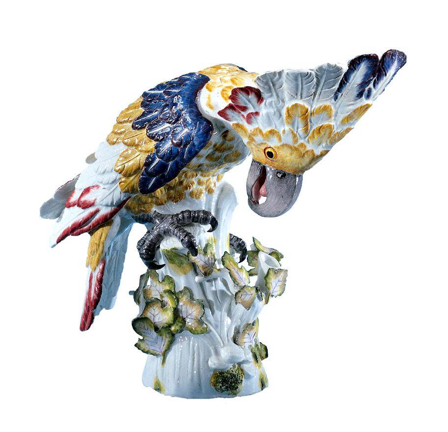 Meissen Keramik: Louis Quinze - Vögel U. Volieren
