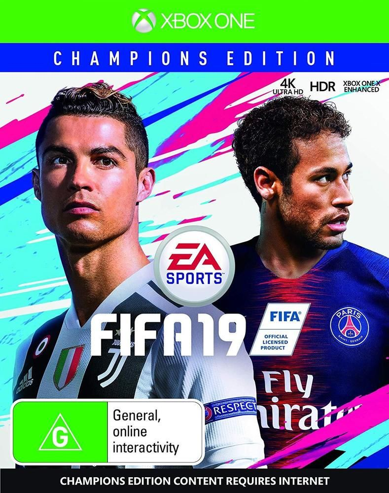 Fifa 19 Champions Edition Soccer Football Sports Game For Microsoft Xbox One Xb1 Ea