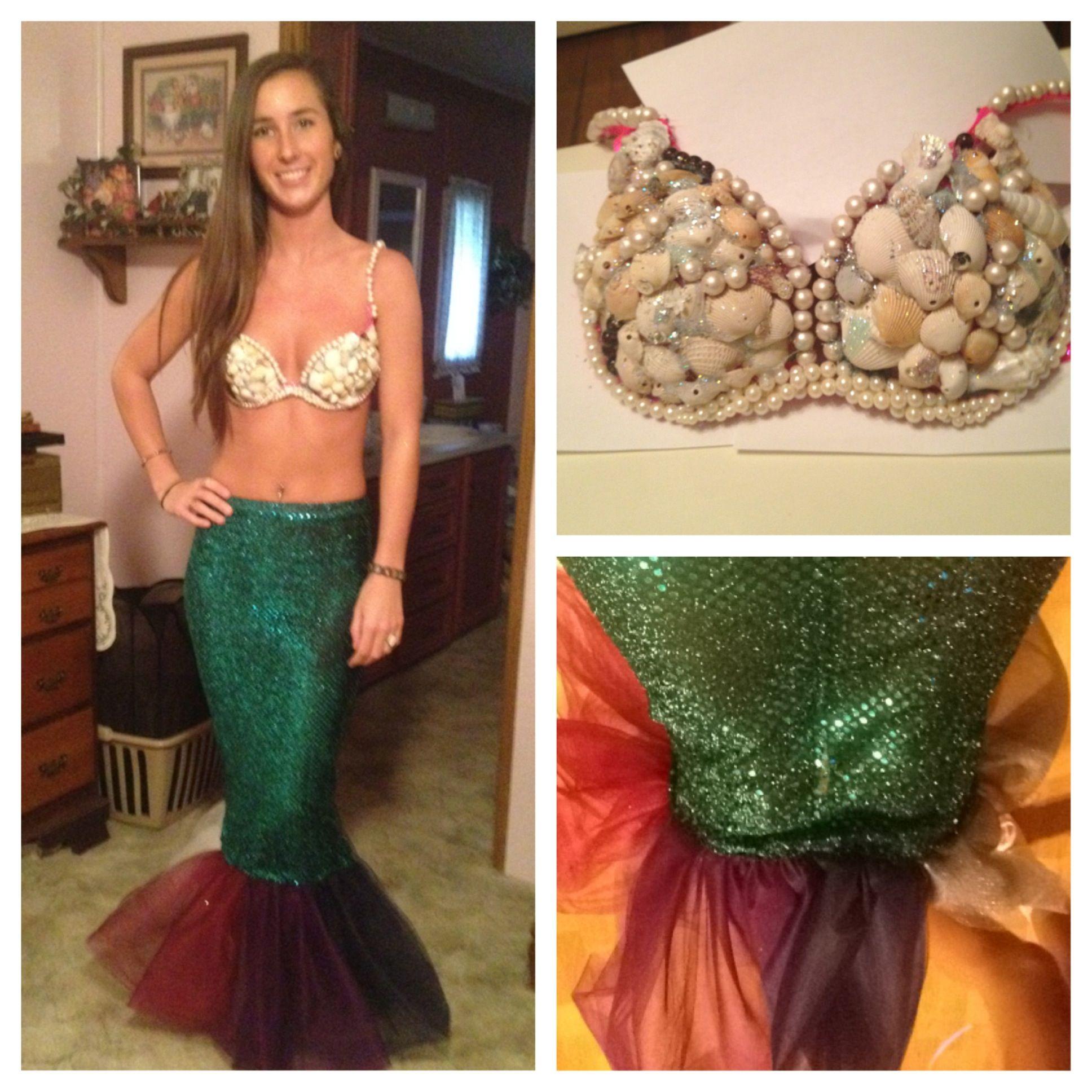 Homemade mermaid costume mermiadcostume halloween take homemade mermaid costume mermiadcostume halloween diy solutioingenieria Choice Image