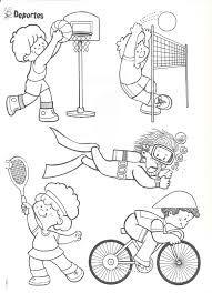 Resultado De Imagen Para Juegos Olimpicos Ninos Sports Coloring Pages Kids Sports Coloring Pages